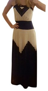 Blue/white/black Maxi Dress by MILLY Maxi Black Blue White