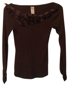 Anthropologie T Shirt Medium brown