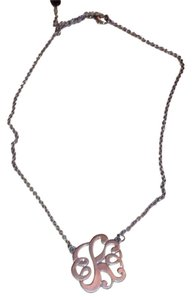 Etcetera Monogram 'k' necklace