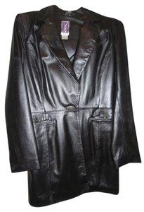 Other Black Lamb Skin Leather Jacket