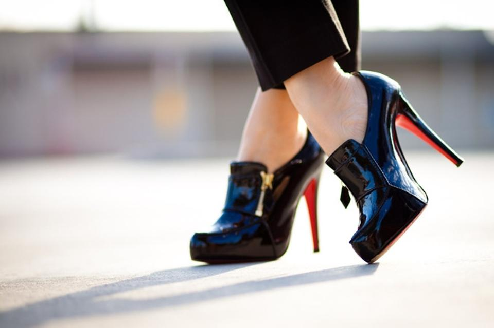0bfff4948e8 Christian Louboutin Black Loafer Lapano Patent Leather Booties Eu 38.5  Pumps Size US 7.5 - Tradesy