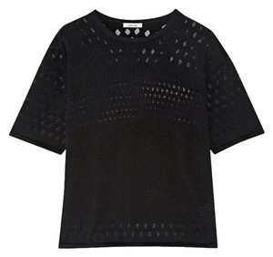 Helmut Lang Open Knit Crewneck Sweater