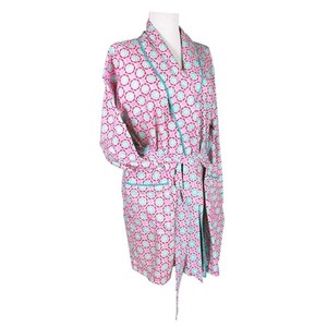 Perfect Robe For Bridesmaids - Lulu Robe In Pink