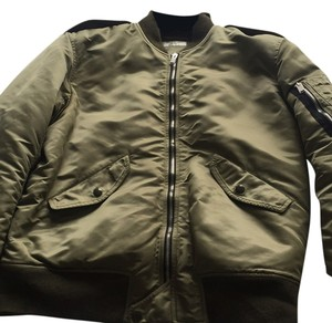 Saint Laurent Olive Green Jacket