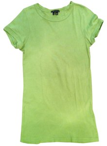 Theory T Shirt Lime Green