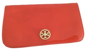 Tory Burch Poppy Red Clutch