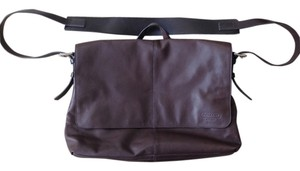 Coach Dark Brown Messenger Bag