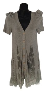 Cecico short dress Grey on Tradesy