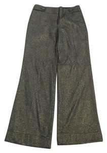 J.Crew Favorite Fit -GOLD/Black wide leg slacks