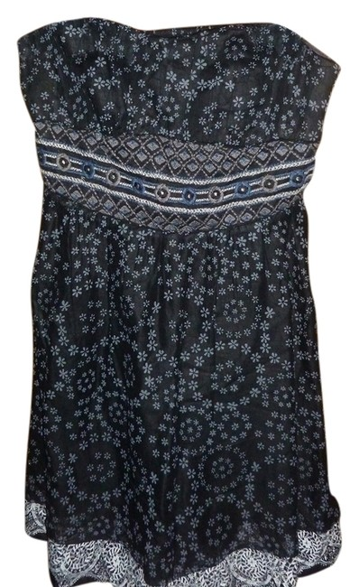 Free People short dress Navvy Blue Floral Paisley on Tradesy