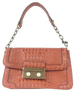 Etienne Aigner Crocodile Mini Shoulder Bag