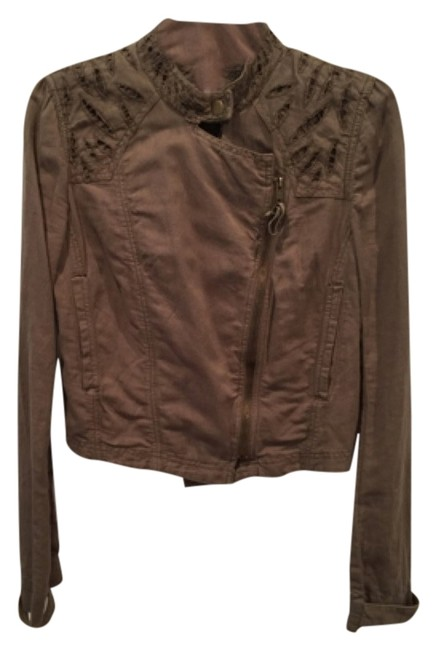 Item - Olive Or Army Green Jacket Size 4 (S)