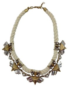 J.Crew JCrew Factory Rope/Brass Necklace