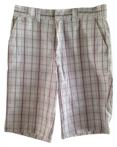 Dickies Bermuda Shorts White Plaid
