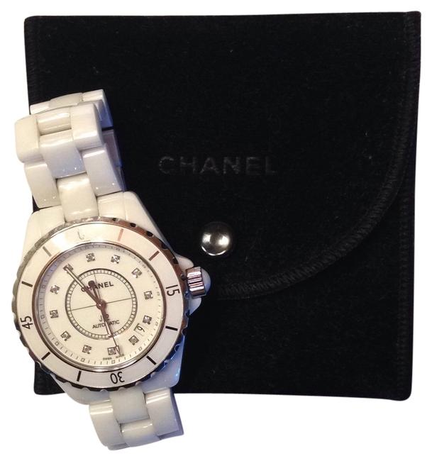 Item - White and Stainless Steel J12 Style H1629 Watch