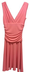 Arden B. short dress Coral on Tradesy