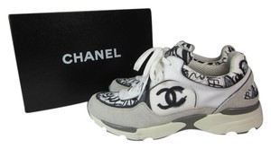 Chanel Leather Cc Logo Sneaker Athletic