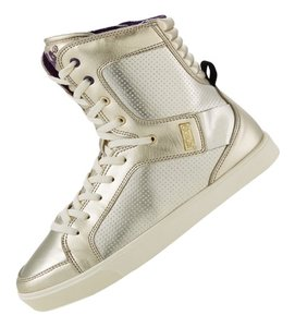 Zumba Fitness Sneakers Dance Gold Athletic