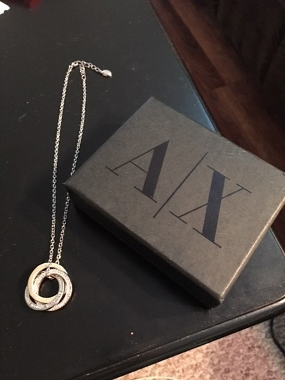 A|X Armani Exchange A/X Armani Exchange Tricolor Ring Necklace