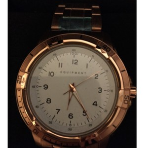 Equipment Rose Gold Watch - Equipment brand