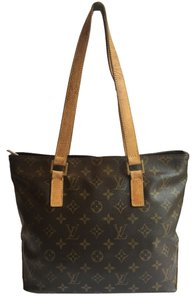 Louis Vuitton Monogram Leather Tote in Monogramed