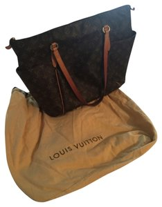 Louis Vuitton Tote in Brown/Tan/Monogram