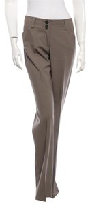 Burberry Size 6 Flare Pants Taupe