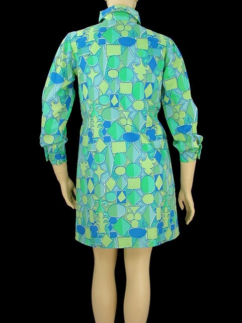 Lilly Pulitzer short dress Print Spring V-neck on Tradesy