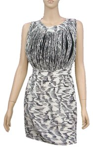 Loeffler Randall Silk Bodycon Shift Shift Print Spring Dress