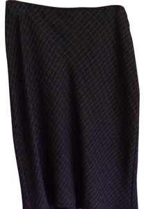 Willi Smith Office Skirt charcoal Gray