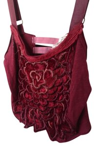 Free People Top Bordeaux