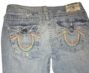 True Religion Rainbow Pocket Pants
