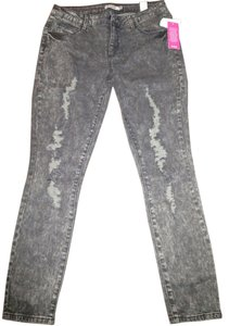 JustFab Skinny Jeans-Distressed