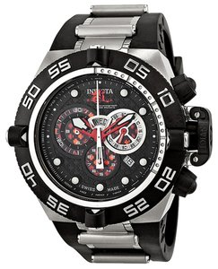 Invicta INVICTA 6569 Subaqua Noma IV Chronograph Black Dial Two-Toned Stainless Steel Men's Watch