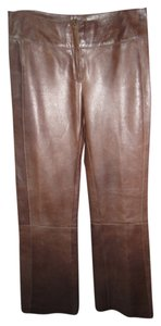 J. Mendel Straight Pants brown