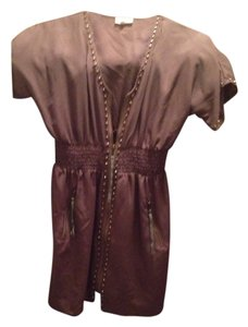 Double Zero short dress Beige on Tradesy