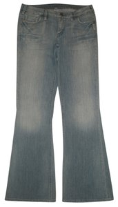 Silver Jeans Co. Cotton/spandex Flare Leg Jeans-Light Wash