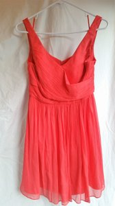 J.Crew Strawberry/Bright Coral Bridesmaid; Cocktail Dress