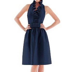 Alfred Sung Midnight Blue D468 Dress