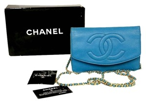 Chanel Cambon Jumbo Quilted Woc Karl Cross Body Bag