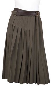 Michael Kors Skirt Olive Green