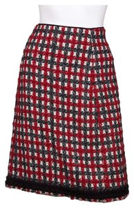 Moschino Skirt Red and Black
