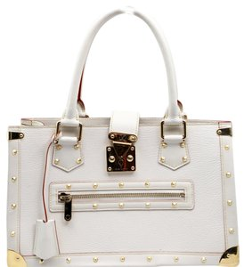 Louis Vuitton Tote in Ivory/ White