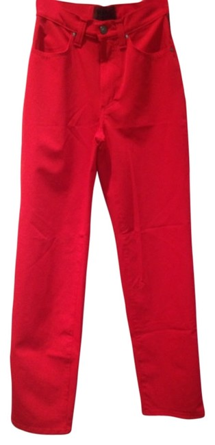 Preload https://img-static.tradesy.com/item/10720873/versace-red-pocket-straight-leg-pants-size-2-xs-26-0-1-650-650.jpg