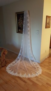 Bridal Lace Cathedral Veil