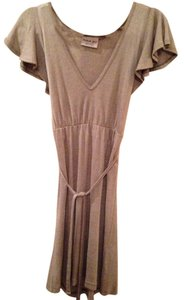 Michael Stars short dress Taupe on Tradesy