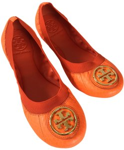 Tory Burch FLUO ORANGE Flats