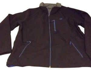 New Balance Black with blue zippers Jacket