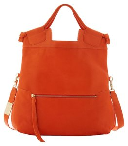 Foley + Corinna New Leather Crossbody Tote in Clementin