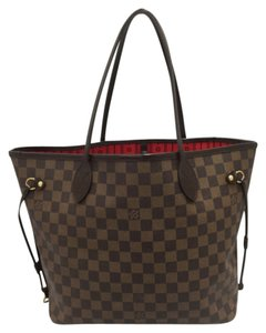 Louis Vuitton Artsy Mm Gm Pallas Eva Tote in Damier Ebene